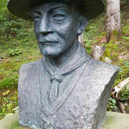 Büste Baden Powells