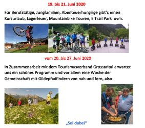 Filme im YouTube Kanal Tourismusverband Groarltal