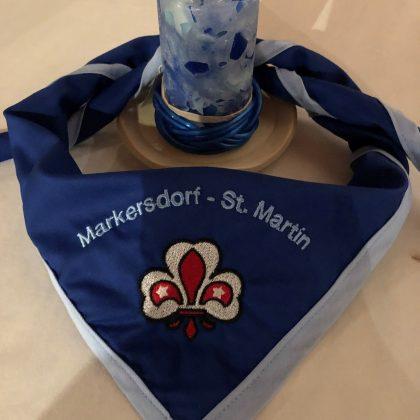 Halstuch Markersdorf - St. Martin