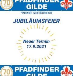 Ankündigung Jubiläumsfeier 70 Jahre Pfadfinder-Gilde Österreich