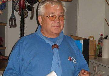 Werner Weilguny, 2007 in Graz St. Georg. Foto: Willi Baumgartner