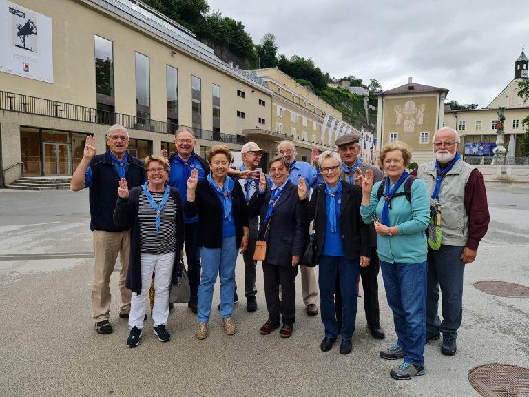 2021 ScoutScarfDay Gilde Maxglan in Salzburg