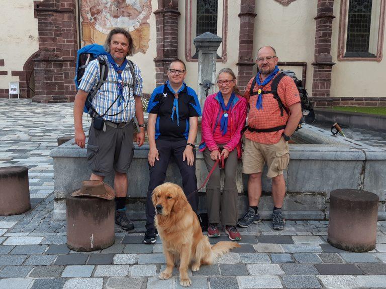 2021 ScoutScarfDay Grüße aus Kärnten