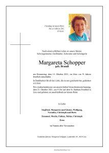 Parte Margareta Schopper