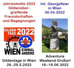 Jahresmotto und Aktivitäten der PGÖ 2022
